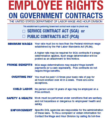 the benefits of working under government contracts The risks and extra costs of federal government contracting award decision if work under the awarded contract has begun, the protestor has.